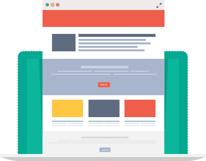 landing page Design Services in Hyderabad