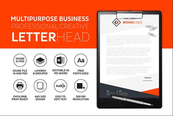 letterhead design services in hyderabad
