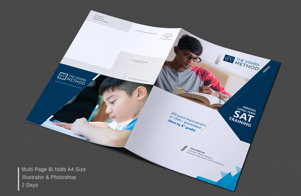 multiple page Brochure design services in hyderabad