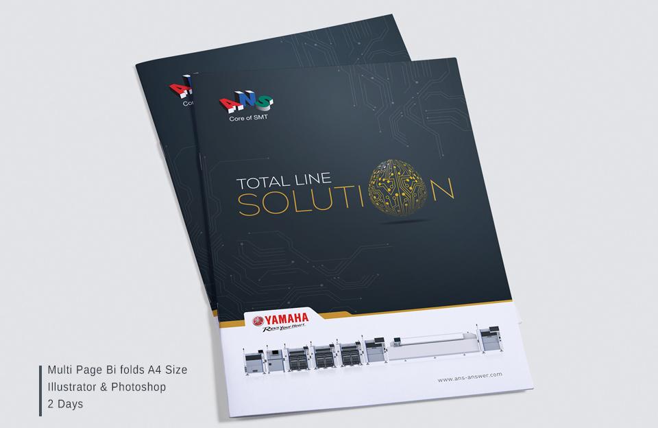 Booklet Brochure design services in hyderabad