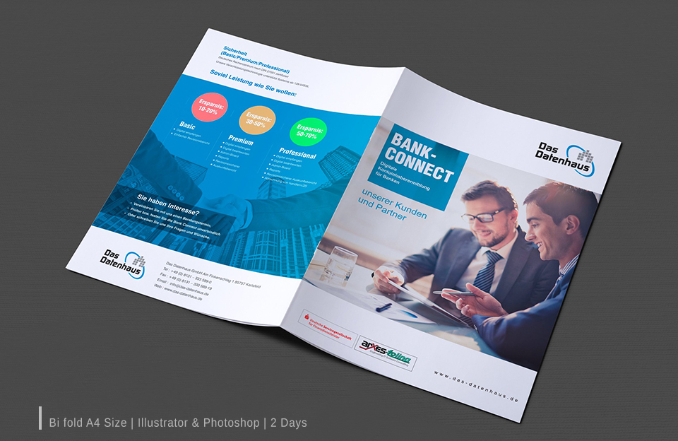 A4 Brochure design services in hyderabad